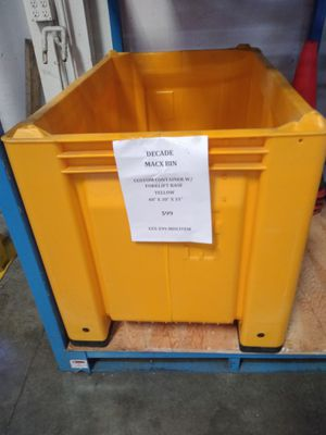 Custom Container with Forklift Base for Sale in Renton, WA