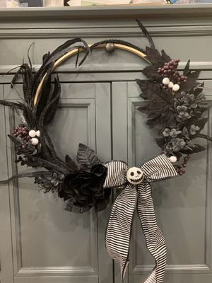 Nightmare before Christmas wreaths for Sale in Coral Gables, FL
