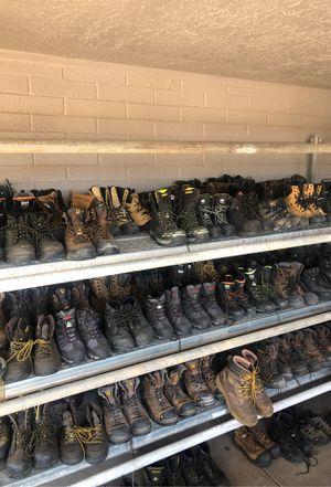 work boots size 7-14 for Sale in Phoenix, AZ