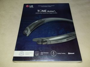 LG Tone Active Plus + (BOX ONLY, 2 pair ear buds, 1 stabilizer tip, manuals) for Sale in Fullerton, CA