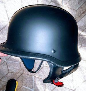 *NEW*Kylin ky-602 (medium) flat black German style advanced motorcycle, scooter half helmet. DOT for Sale in Henderson, NV