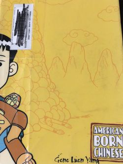Gently Used Paperback Book : American Born Chinese by Gene Luen Yang for Sale in Pinellas Park,  FL