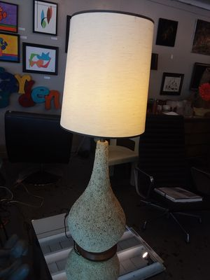 Stunning Mid Century Lamp w/ Lava Finish for Sale in Orlando, FL