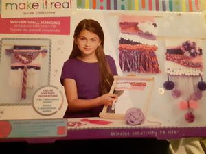 Brand new make it real wall hanging kit for Sale in Cadillac, MI