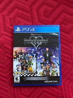 Kingdom Hearts 1.5+2.5 Remix PS4 for Sale in Los Angeles, CA