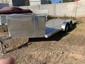 18' Aluminum Tilt Trailer Car Hauler for Sale in Gilbert, AZ