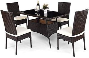 Patio Furniture, 5 PCS All Weather Resistant Heavy Duty for Sale in Los Angeles, CA
