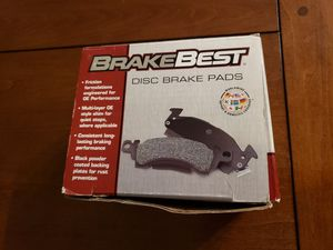 BreakBest Organic Front Disc Brake Pads (#D1759, line BB2) for Sale in San Diego, CA