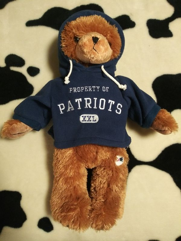 New England Patriots jersey, bear, pillowcase& coozie. Tom Brady