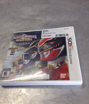 Power rangers 3DS game 11091136357 for Sale in Sacramento, CA