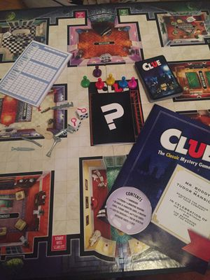 Clue board game for Sale in Cleveland, TN
