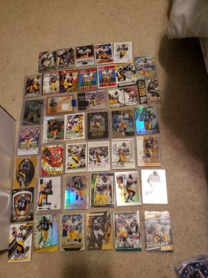 Jerome Bettis mixed card lot for Sale in S CHESTERFLD, VA