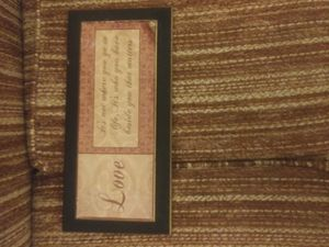 3 piece quote wall decor set for Sale in Madisonville, TN
