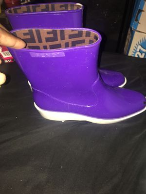 Fendi rain boots for Sale in Tinicum Township, PA
