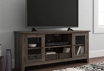 Arlenbry Chipped Gray Contemporary TV Stand | W275-68 by Ashley for Sale in Arlington,  VA