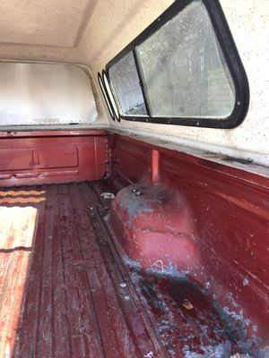 Trailer with camper , truck bed from 1979 ford f 100 for Sale in Los Angeles, CA