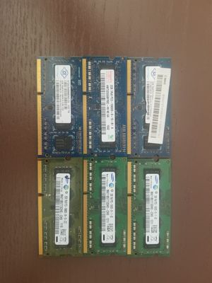 12GB (6x2gb) 1Rx8 PC3 10600s for Sale in New Hope, MN