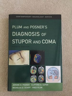 Plum and Posner diagnosis of stupor and coma for Sale in Sacramento, CA