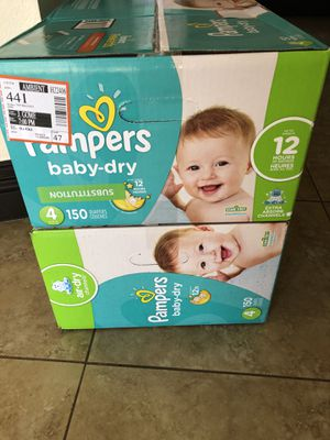 Pampers size 4 baby dry for Sale in Las Vegas, NV
