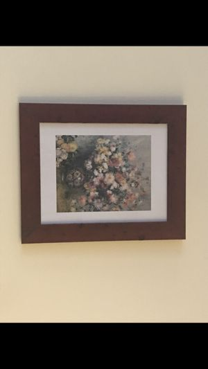 Framed Painting of Flowers for Sale in Chicago, IL