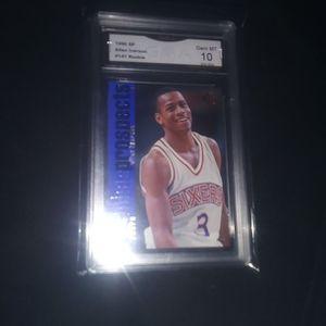 Gma 10 1996-97 Upper Deck SP Allen iverson Rookie Card for Sale in St. Petersburg, FL