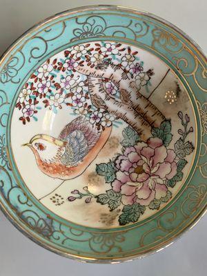 Vintage Painted Porcelain Bowl for Sale in Portland, OR