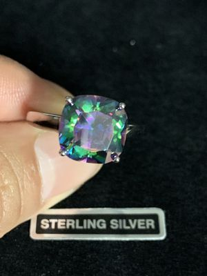 Sterling Silver Rainbow TopazRing for Sale in Quincy, IL