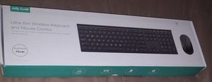 Ultra Thin Wireless Keyboard with Mouse for Sale in Alexandria, VA