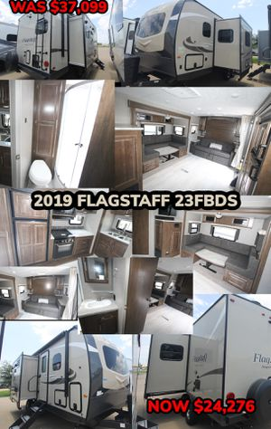 END OF THE YEAR CLEARANCE SALE!! 2019 FLAGSTAFF 23FBDS for Sale in Dallas, TX