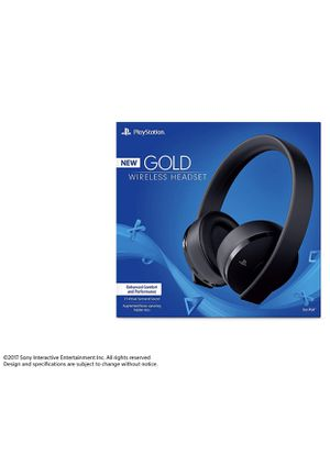 PS4 gold wireless headset comes w/ dongle for Sale in Houston, TX