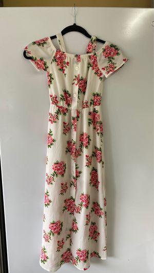 Girls dress size 7 flowers for Sale in Auburn, WA