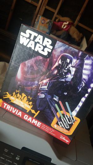 STAR WARS TRIVIA GAME for Sale in Hesperia, CA