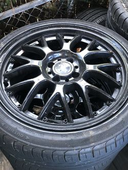 """17"""" rims and tires 4x100 for Sale in Brentwood,  MD"""