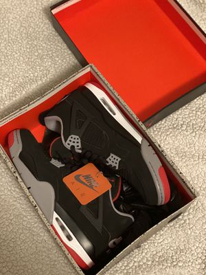 Jordan 4 bred for Sale in Los Angeles, CA
