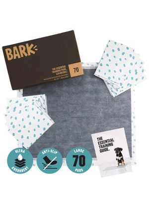 Bark box odorless puppy pads size large for Sale in San Dimas, CA