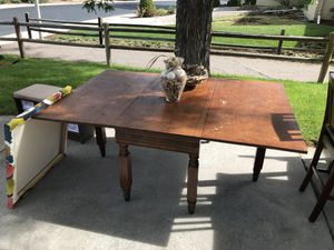Free! Antique Dining Table for Sale in Denver, CO