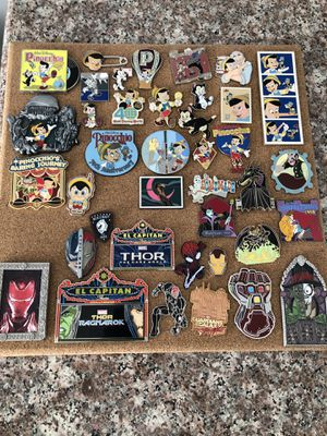 Disney/Marvel Pins (READ DESCRIPTION) for Sale in Industry, CA