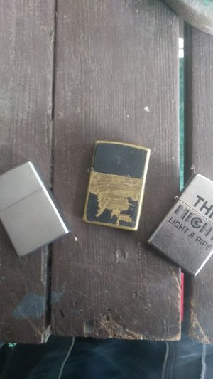 Zippo 3 PC lighter bundle for Sale in Puyallup, WA