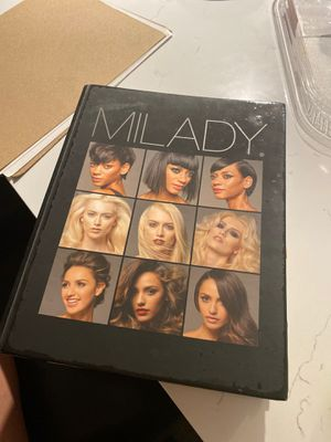 Milady cosmetology book for Sale in Dallas, TX
