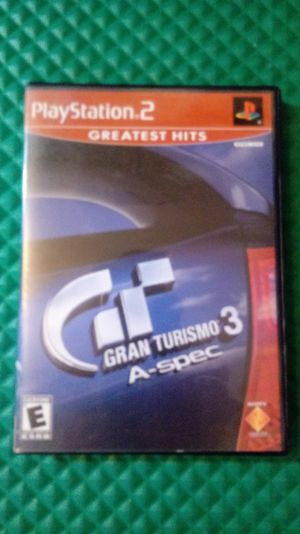 PlayStation2 video gane Grand Turismo 3 for Sale in Glendale, AZ