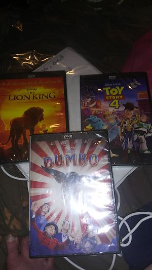Disney DVDs (Newly Released Titles) for Sale in Kansas City, MO