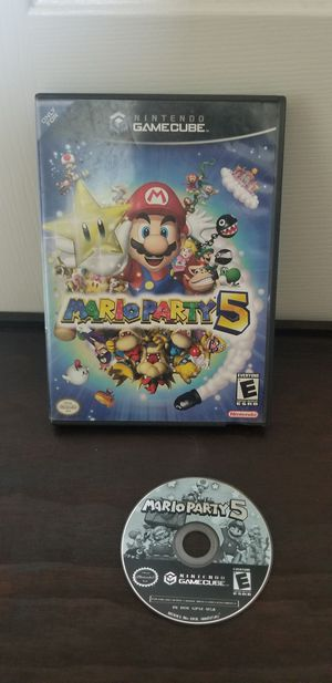 Gamecube Mario Party 5 for Sale in Wildomar, CA