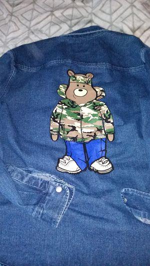Mens M denim Jacket for Sale in Lake Elsinore, CA