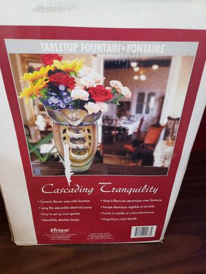 New table top fountain for Sale in Hesperia, CA