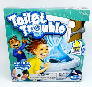 Toilet Trouble Game Kids Family Funny Water for Sale in Fort Myers, FL