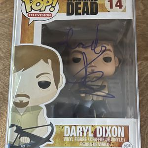 Signed Norman Reedus Funko POP! Darryl Dixon - Walking Dead - Excellent Condition - JSA COA for Sale in Channahon, IL
