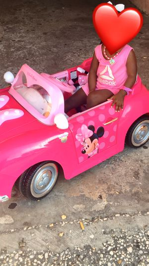Toddler Minnie Mouse car for Sale in Bartow, FL