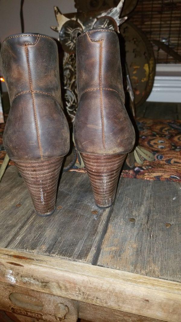 Clark's indigo boots