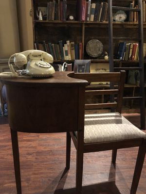 30x14x31 antique vintage telephone table conversation desk. Really nice. 65.00. 212 North Main Street buda for Sale in Austin, TX