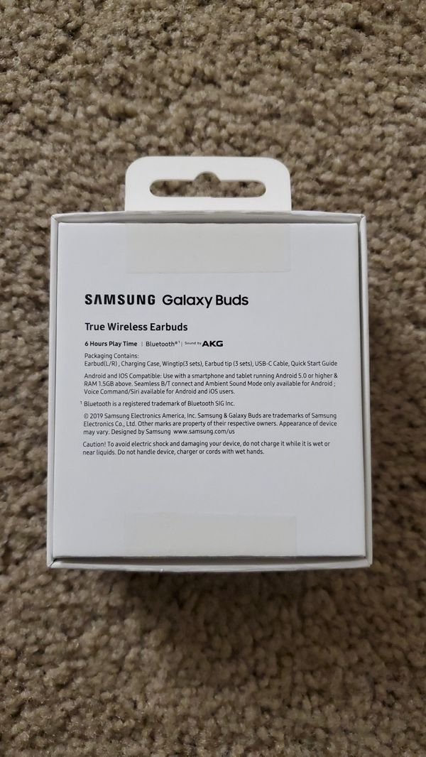 Samsung Buds New